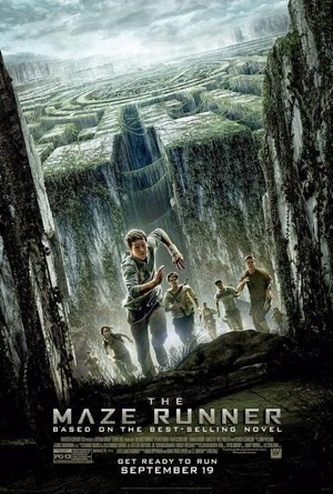 The Maze Runner 2014 poster