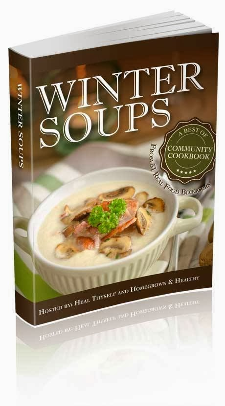 Wonderful ebook of soup recipes from your favorite bloggers!