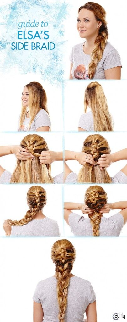 Pictorial hairstyle diy: