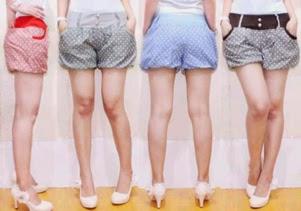 Model Celana Pendek Wanita Trendy 2014