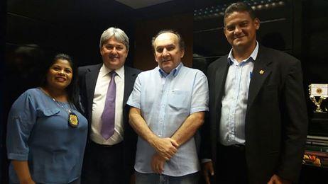 Nelter quer celeridade na tramitação de PL que isenta cobrança de ICMS na compra de armas de fogo por profissionais da segurança pública