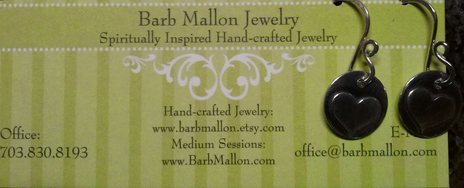 Handmade Jewelry by Barb Mallon!