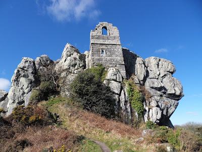 Roche Rock and chapel, Cornwall
