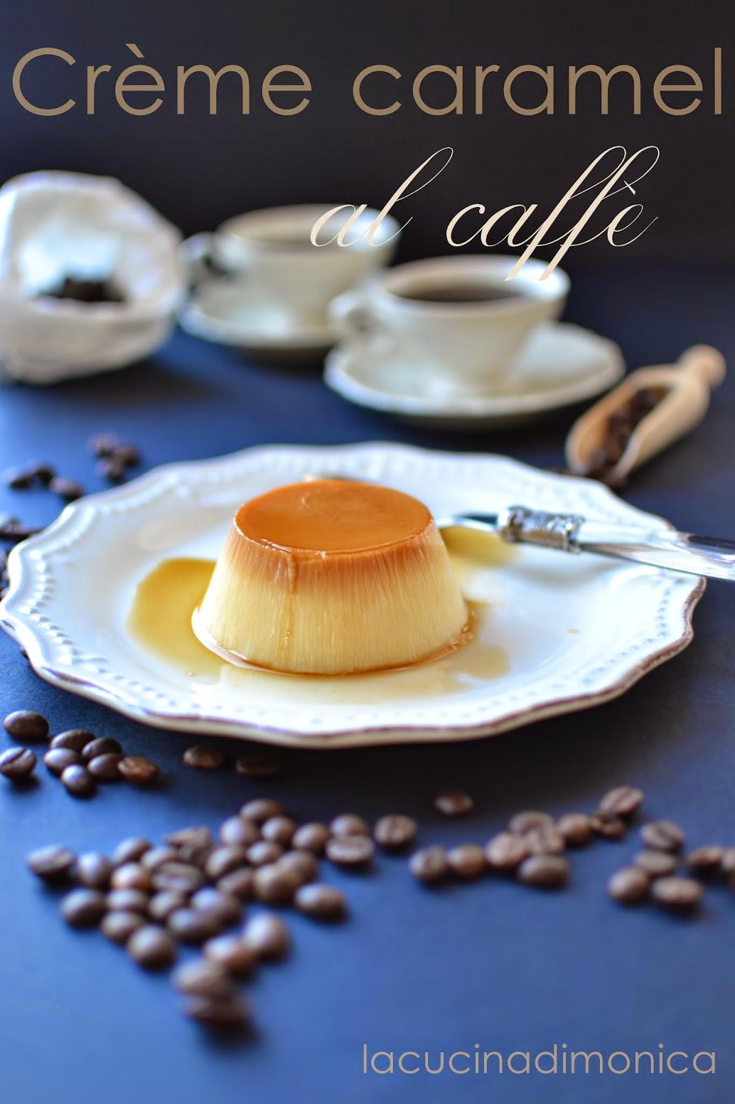 crème caramel al caffè