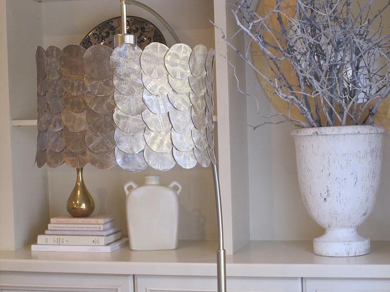 Simple Details Diy Fish Scale Lamp Shade