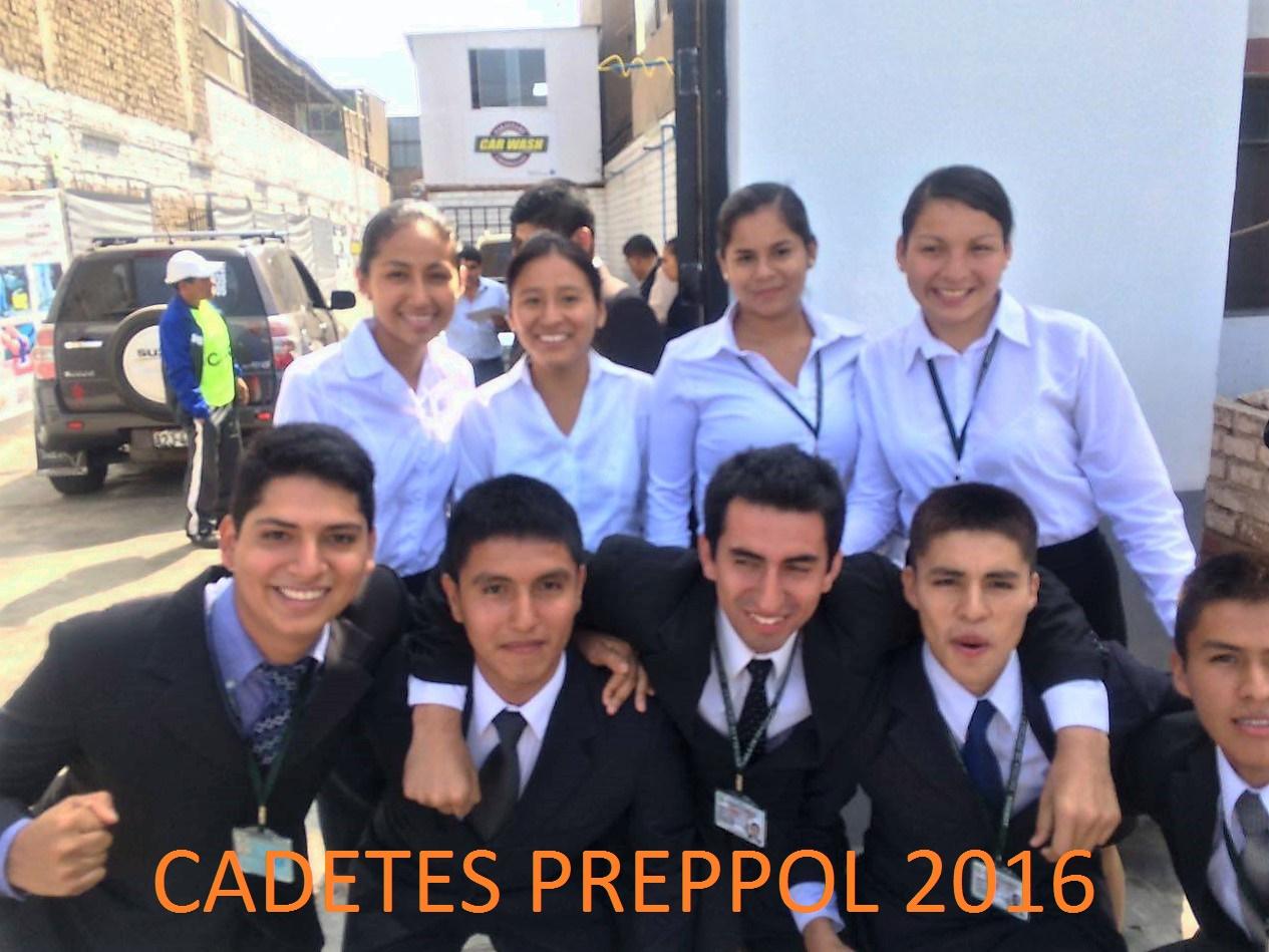 CADETES PREPPOL 2016