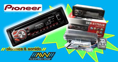 Radio Pioneer DEH - X 1750 UB