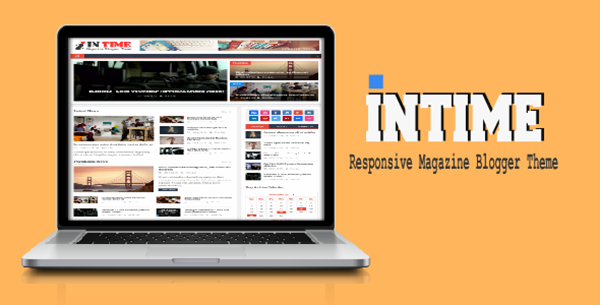 Intime Magazine Blogger Template