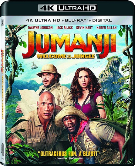 Jumanji: Welcome to the Jungle 4K (Jumanji: En la Selva 4K) (2017) 2160p 4K UltraHD HDR BluRay REMUX 46GB mkv Dual Audio Dolby TrueHD ATMOS 7.1 ch