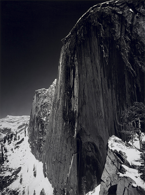 Monolith, The Face of Half Dome, by Ansel Adams