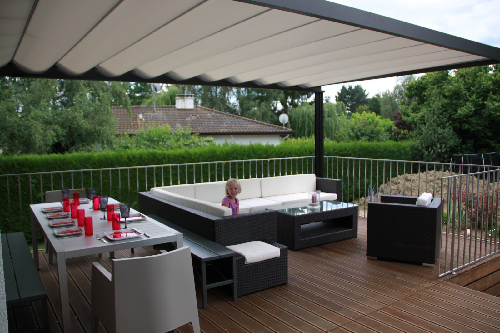 how to put sun deck roop