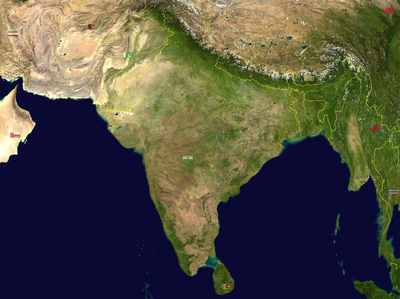 Indian Geography Quiz: