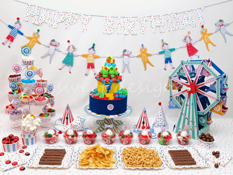 Fiestas Elegantes para Niños, parte 3