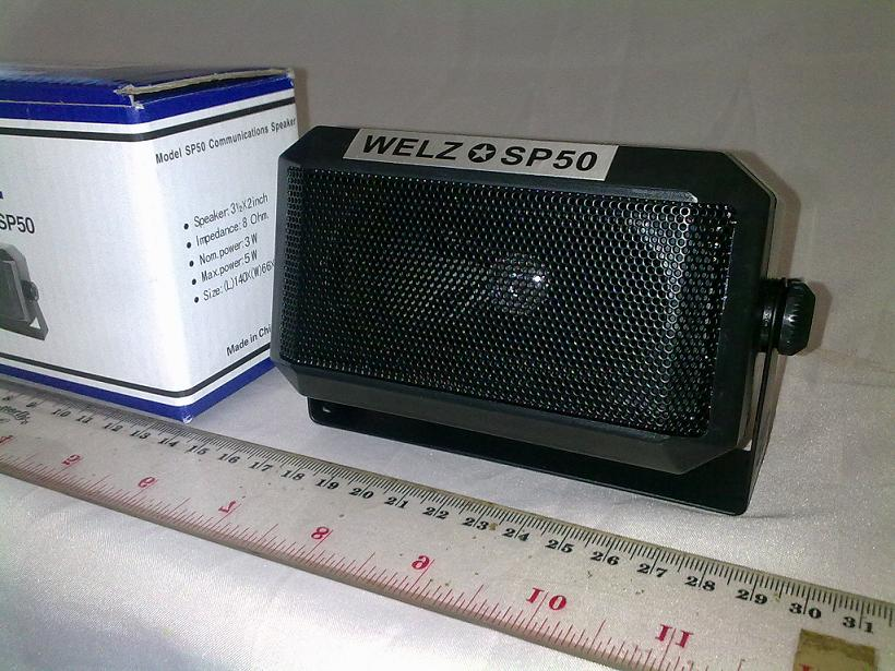 SPEAKER EXTERNAL RADIO