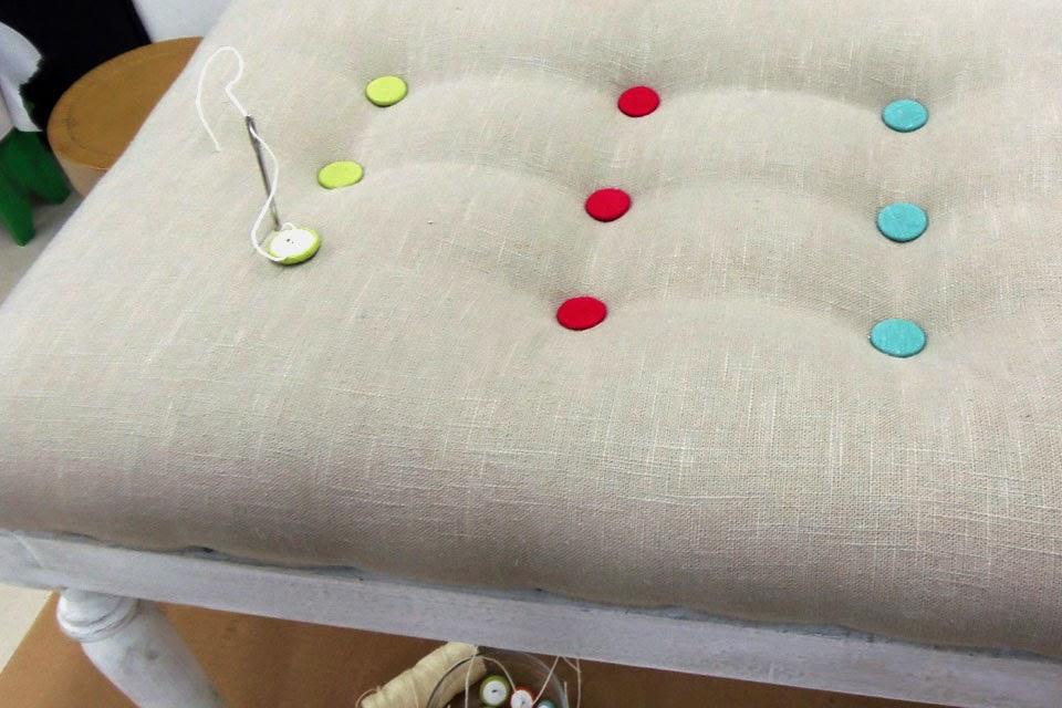 Como hacer in asiento para silla de hierro - Talleres de tapiceria ...