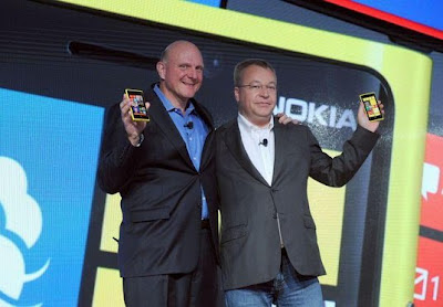 Stephen Elop &amp; Steve Ballmer - Lumia 920