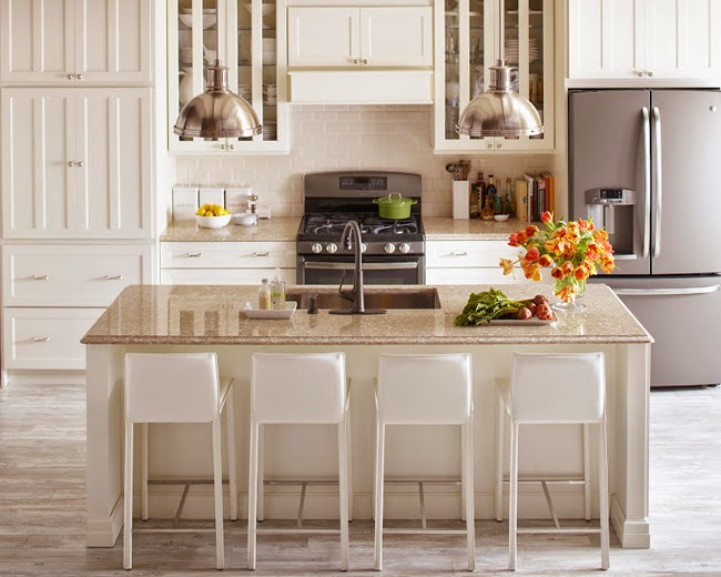 The Quartz Countertops Feature Beautiful Veining And Rich Depth Of Color,  Designed To Coordinate Well With A Variety Of Martha Stewart Living  Cabinetry ...