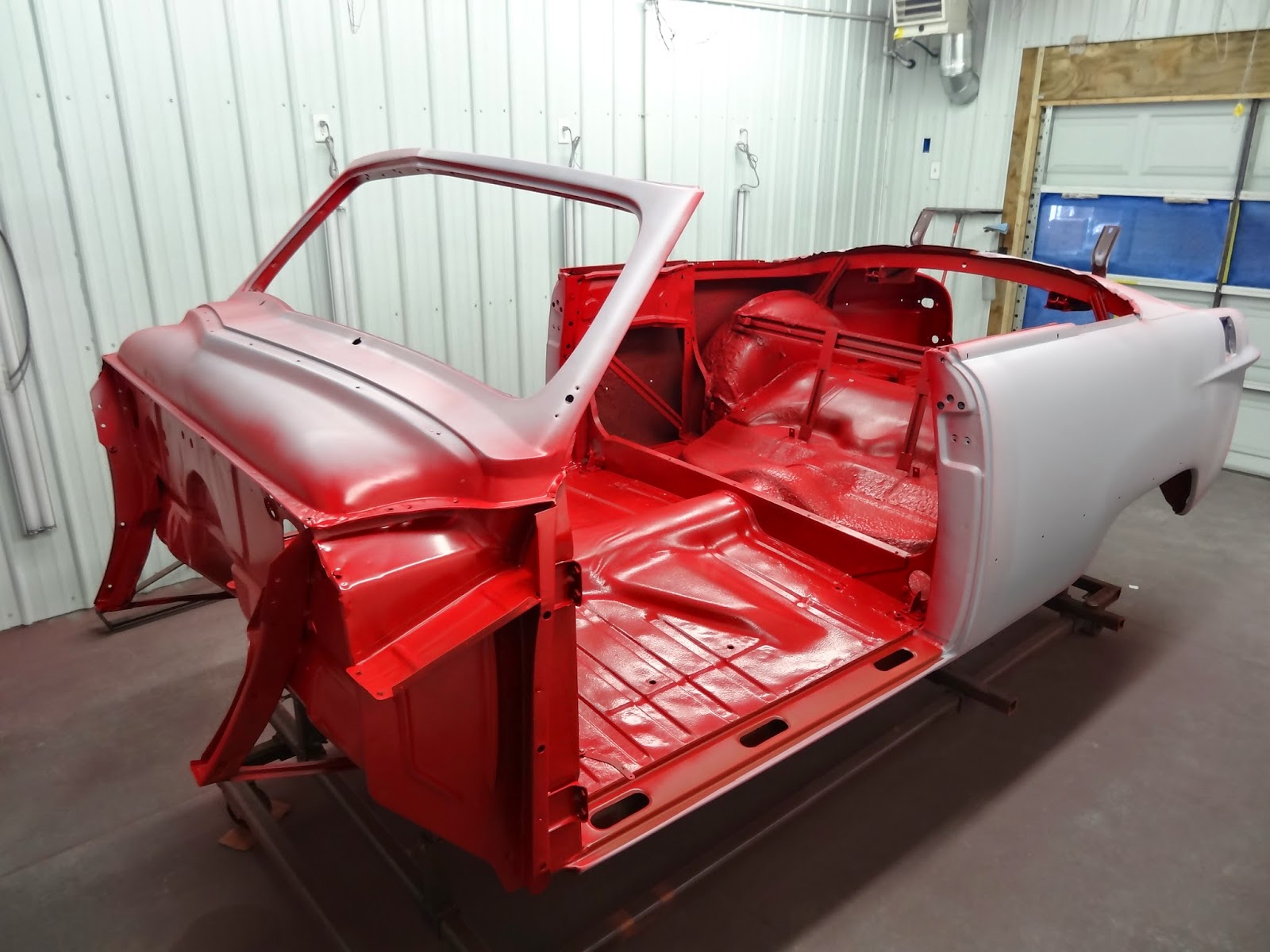 1951Ford Painted Body tub