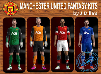 Manchester United Fantasy Kits by J Dilla's