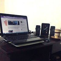My work desk at home