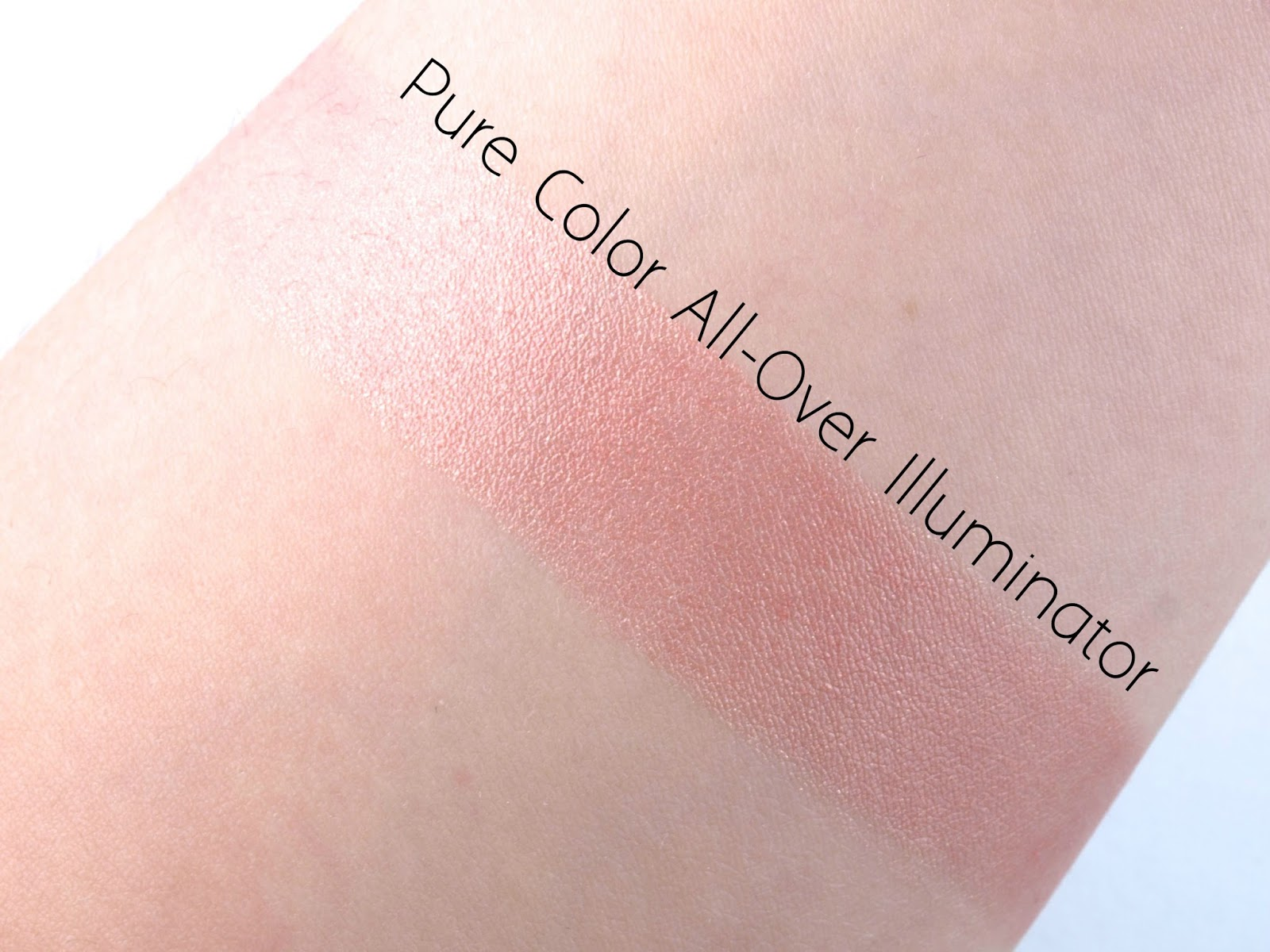 Estee Lauder Pure Color All-Over Illuminator Shimmering Highlight for Face & Body: Review and Swatches