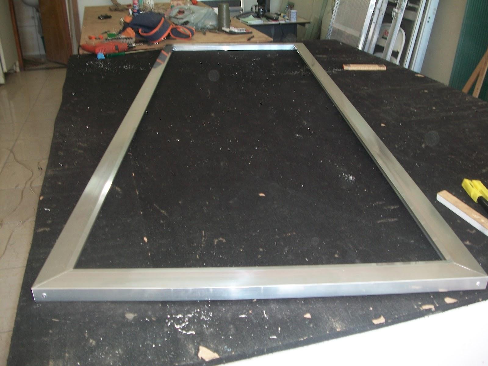 #674D3D  blogspot como se faz esquadrias de aluminio: porta colmeia de aluminio 3708 Como Fazer Janela De Aluminio Passo A Passo
