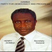 Hendry Gomez opposition said 16 years is enough in the Gambia