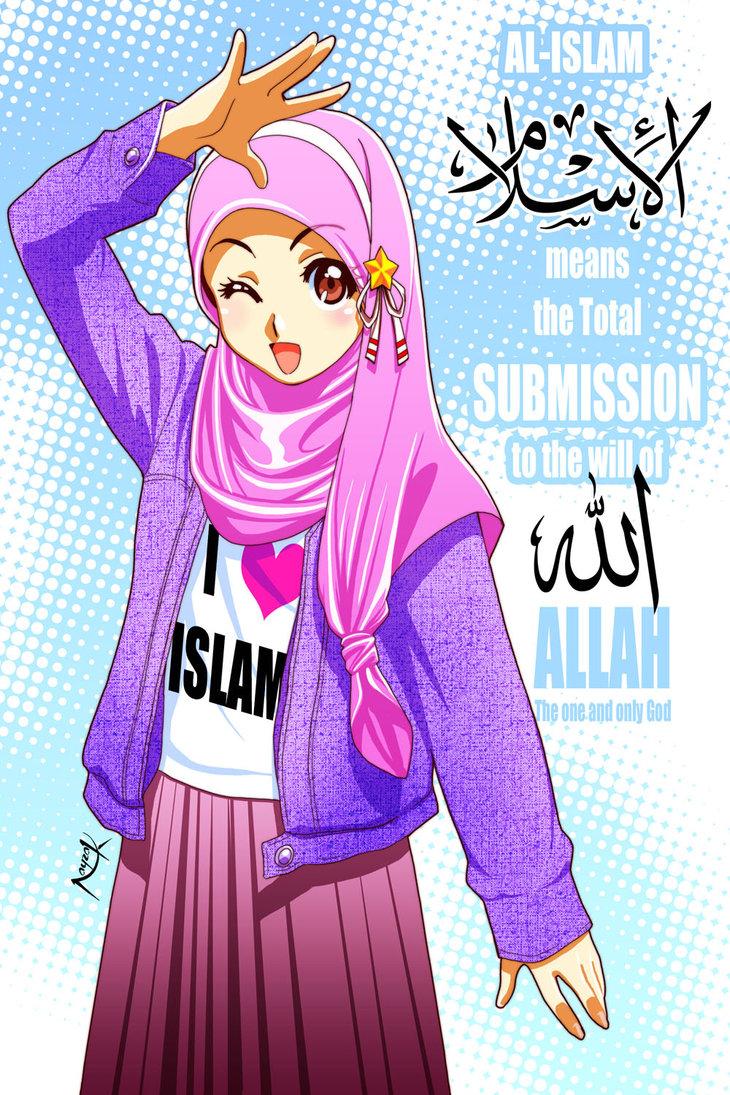 ya gambar kartun islami diatas saya suka sekali degan gambar kartun