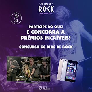 """Promoção """"30 Dias De Rock Com Gvt Music"""""""