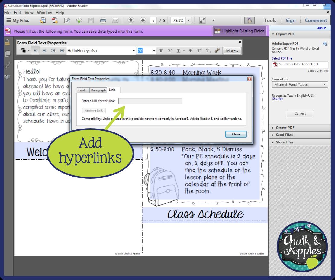 create editable pdf