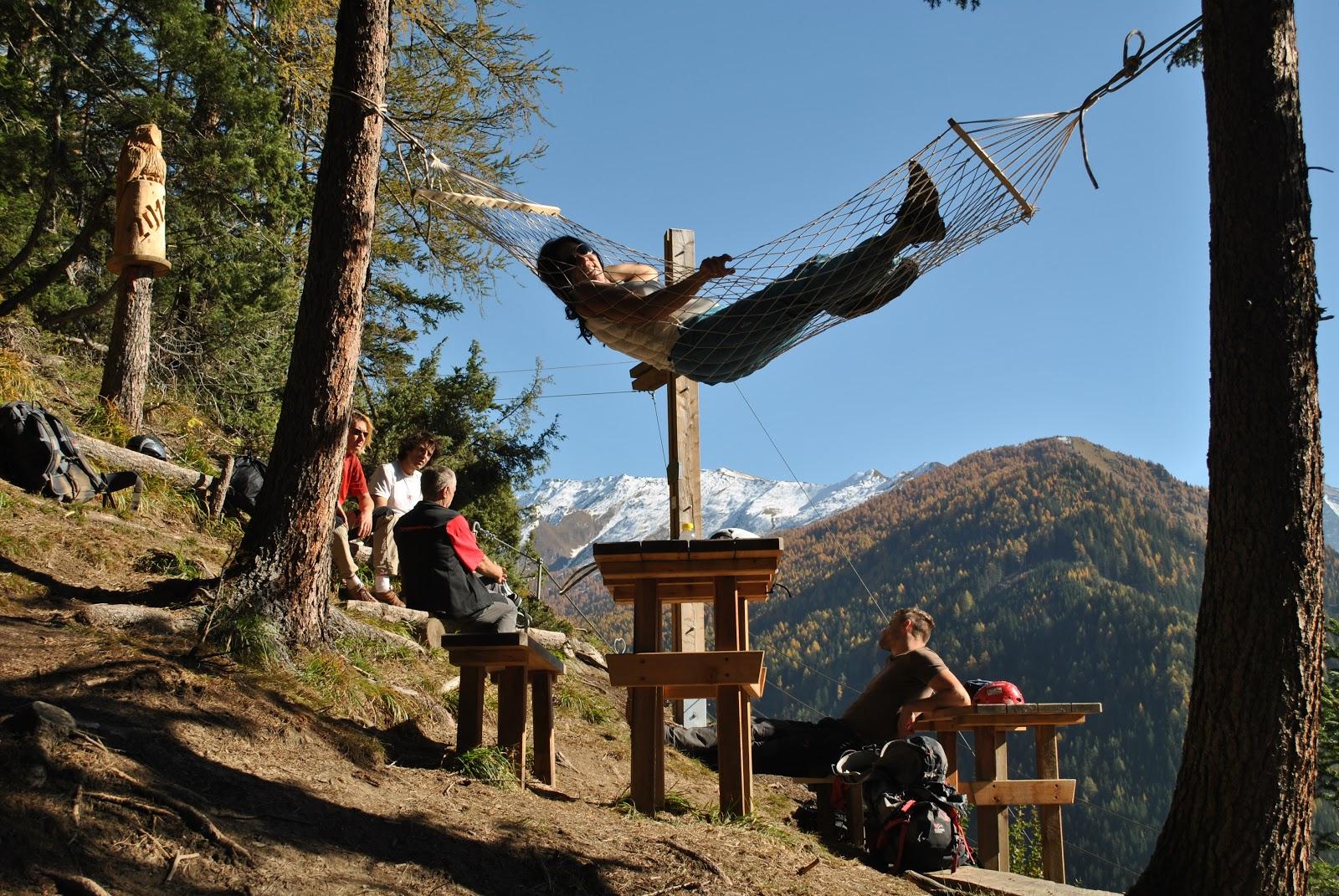 St Jodok Klettersteig : Gebis guide to sports in innsbruck klettersteig stafflacher wand