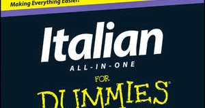 Blogtrotter Italian All For One For Dummies Book Review
