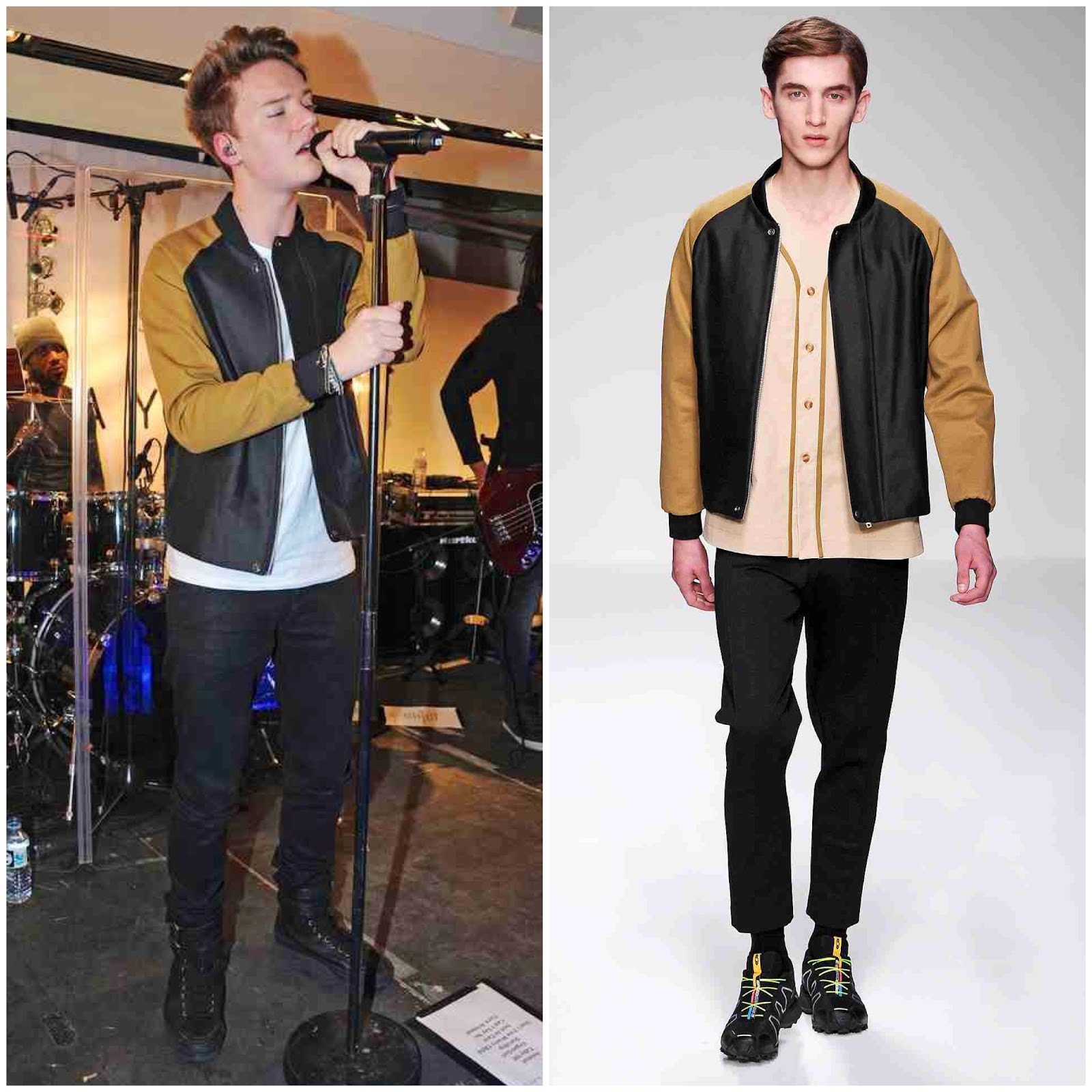 00O00 Menswear Blog Conor Maynard in Lou Dalton - Citadium store performance, Paris