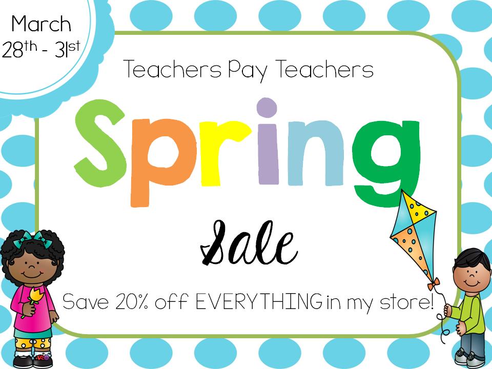 TPT Spring Sale