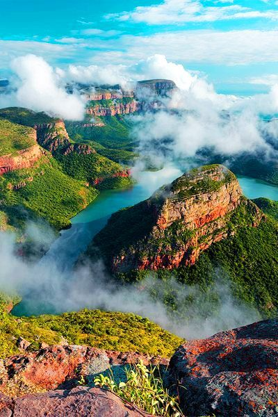 important characteristics - Blyde River Canyon, South Africa