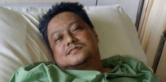 aziz desa semasa di hospital