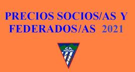 ¡¡¡ MUY IMPORTANTE LEER NOTA INTEGRA !!!    LICENCIA FEDERATIVA Y CUOTA SOCIO/A 2021