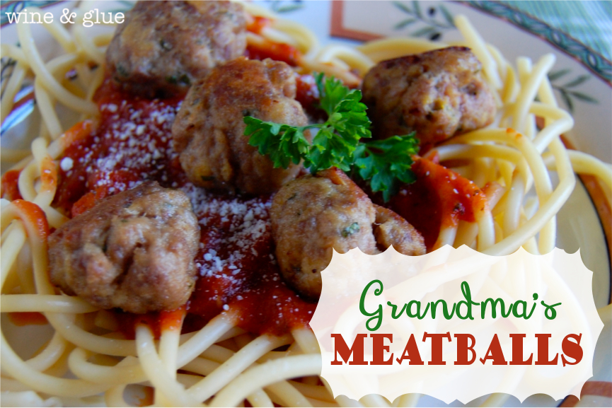 Grandma's Italian Meatballs Recipe
