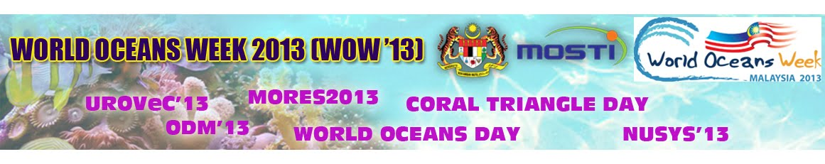 WORLD OCEANS WEEK 2013