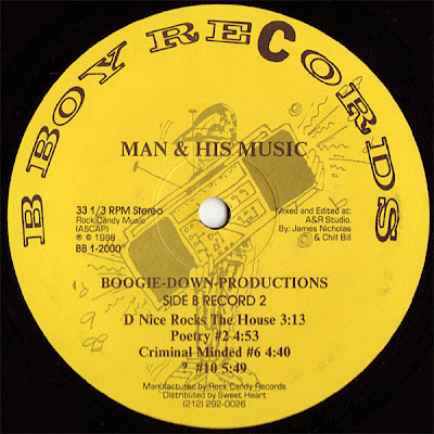 Boogie Down Productions – Man & His Music (1988) (320 kbps)