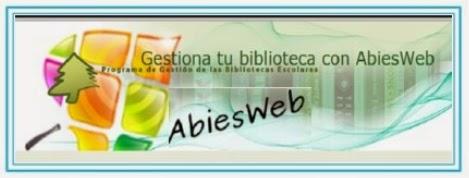 Acceso directo Abies web Biblioteca del IES Puerta de la Serena