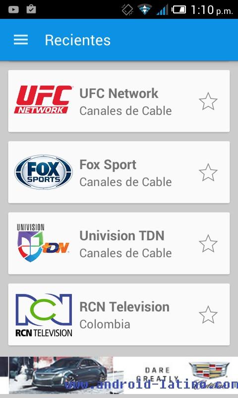 Aplicacion Tv De Paga En Tu Android Con You Play Player