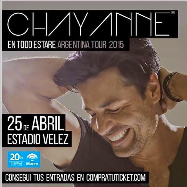Chayanne en Argentina 2015