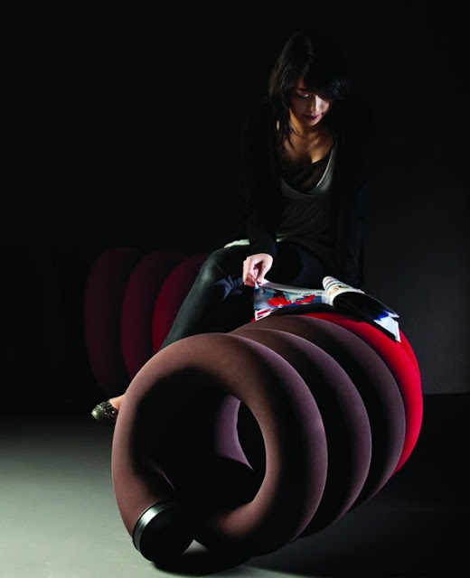 Spiral Public Chair Design by Louisa Kwan Seen On www.coolpicturegallery.us