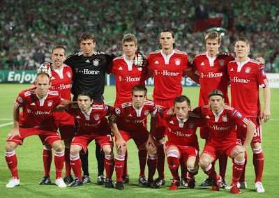 Bayern Munich Official Team