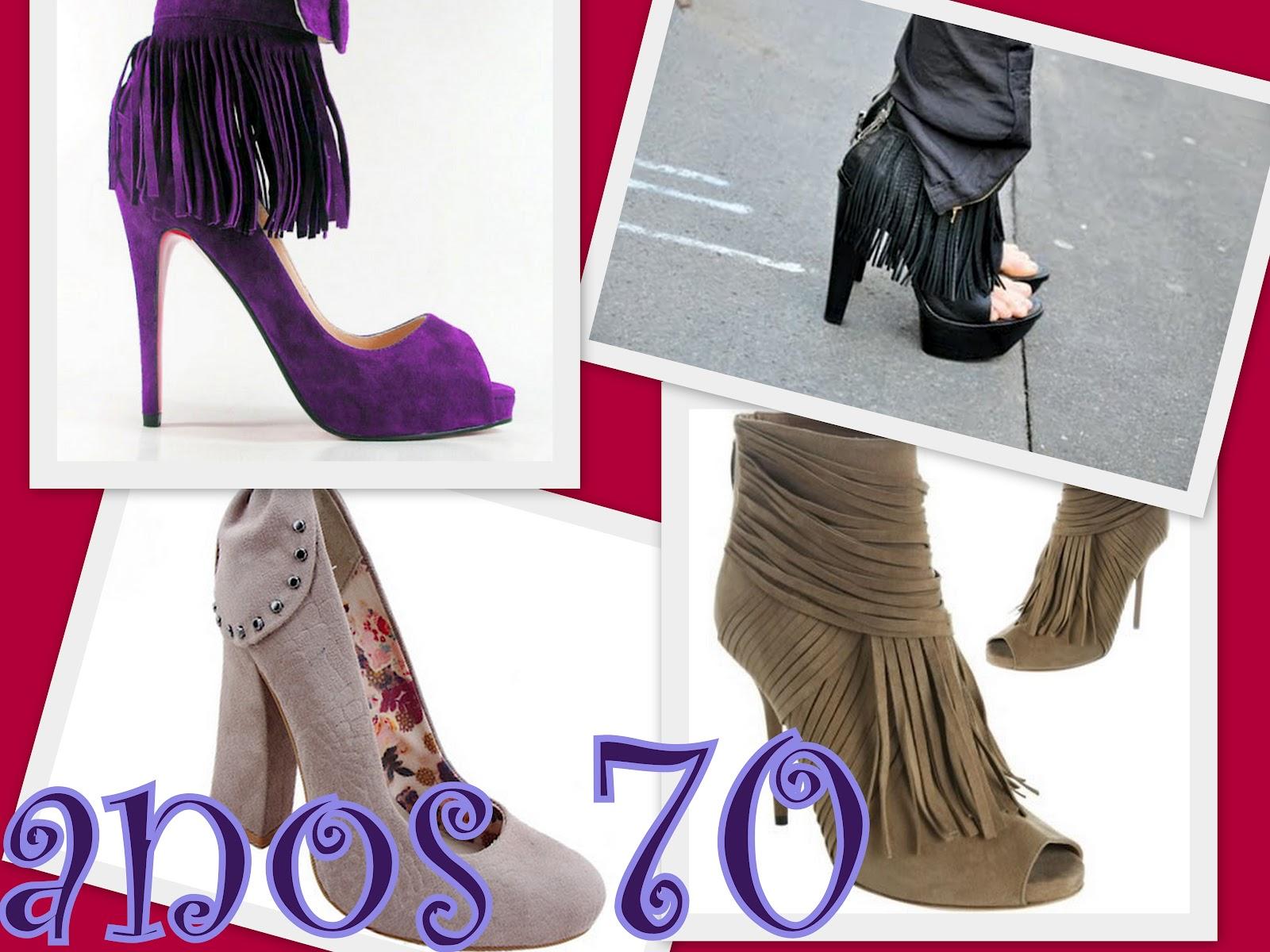 Pequena h sapatos 2012 - Estilismo anos 70 ...