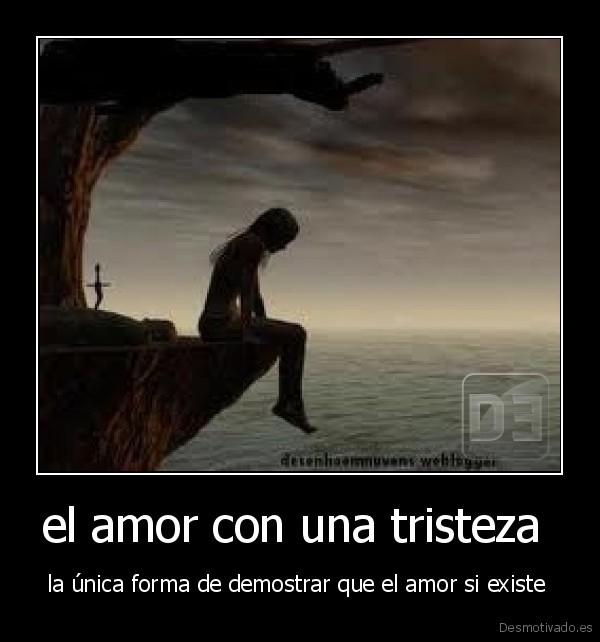 tristeza de amor