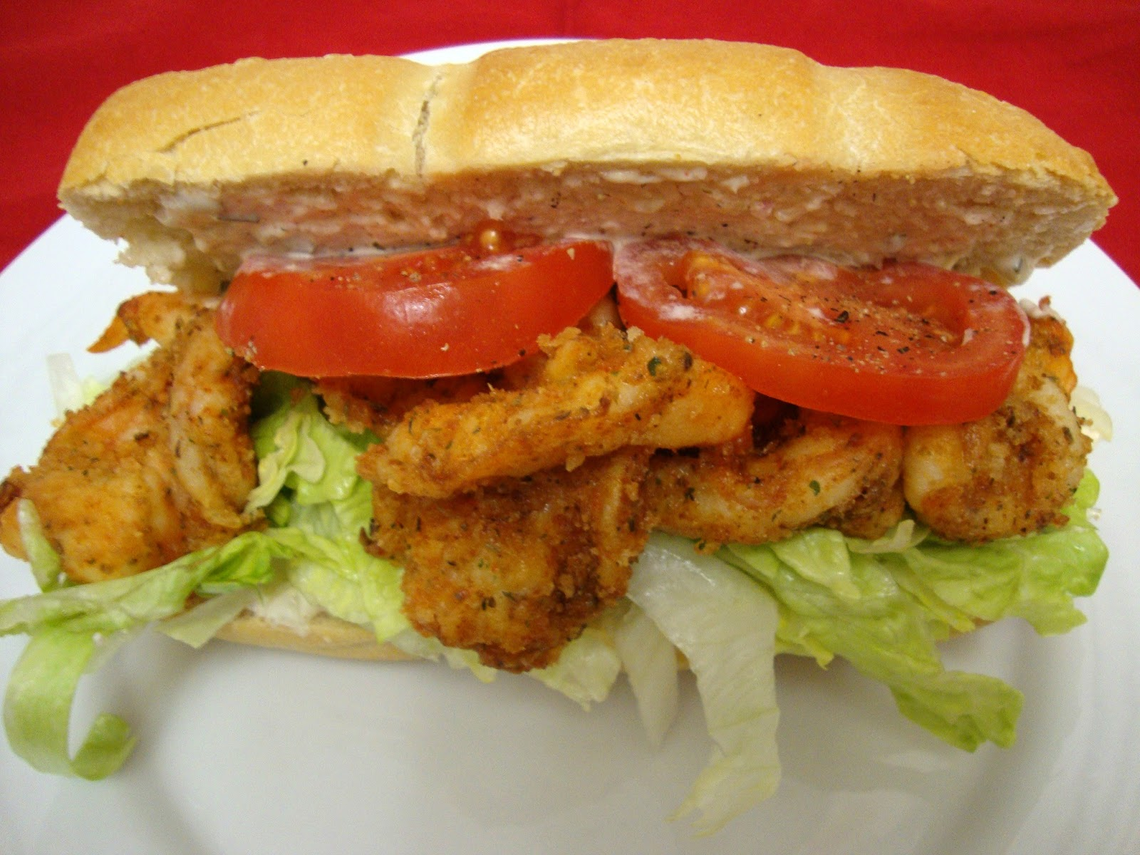 Shrimp Po Boy Sandwich Recipe — Dishmaps