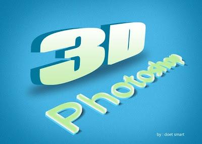 Membuat Tulisan 3D Dengan Photoshop 17