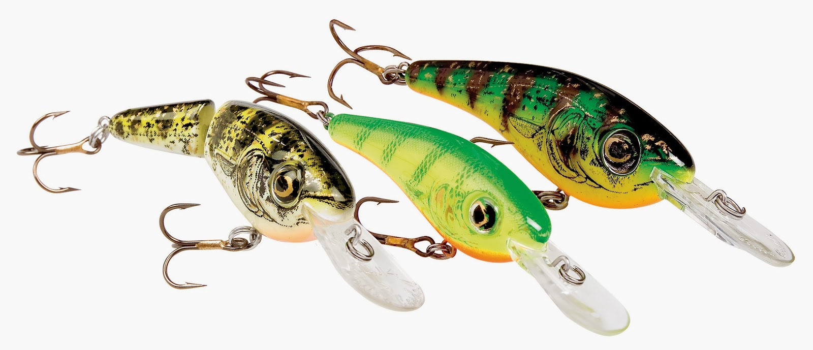 10 types of fishing lures that can help you catch the big for Walleye fishing tackle